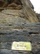 Rock Climbing Photo: Many routes have lost their fancy plaques, not Bea...