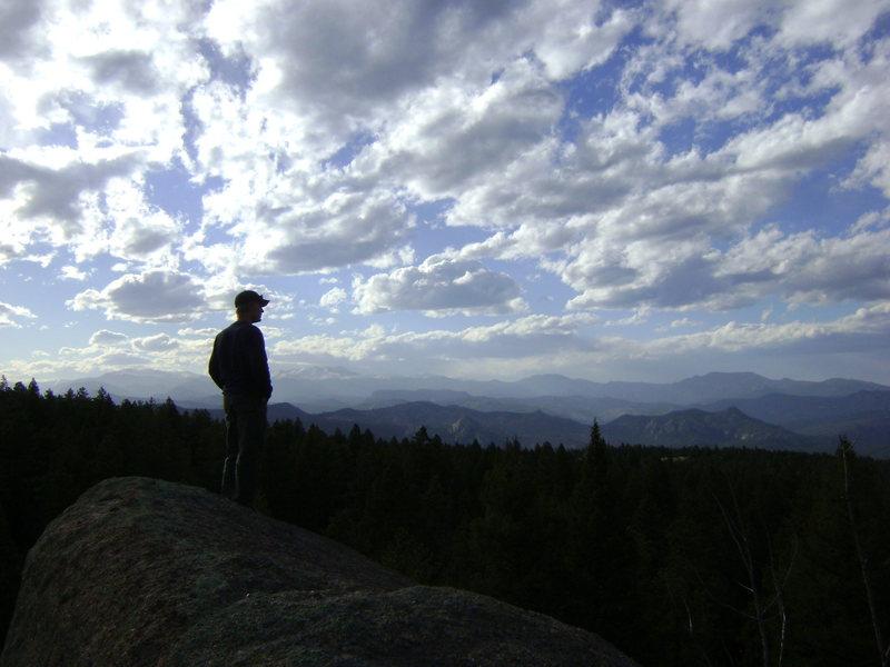 S. Platte from the top of Tweaker Rock
