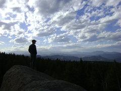 Rock Climbing Photo: S. Platte from the top of Tweaker Rock