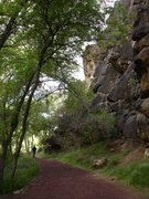 Rock Climbing Photo: Oasis