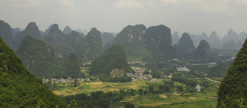 Karst covered Guilin County