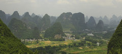 Rock Climbing Photo: Karst covered Guilin County