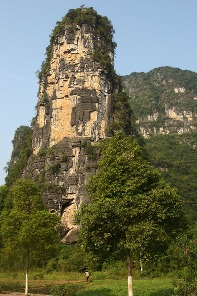 Rock Climbing Photo: The east face of The Thumb
