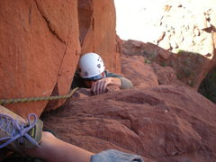Rock Climbing Photo: It can be a bit awkward....