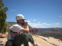 Rock Climbing Photo: The summit is a very contemplative place.