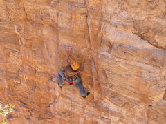 Rock Climbing Photo: Just a little crimpy...