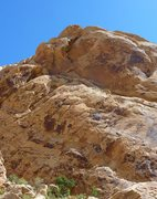 Rock Climbing Photo: On the third pitch.Click twice to enlarge. Photo M...