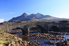 Rock Climbing Photo: Old Sligachan Bridge. Photo Denis Peare.