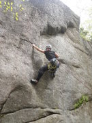 "Rock Climbing Photo: Starting out on ""Entrance Exam.""  The ro..."