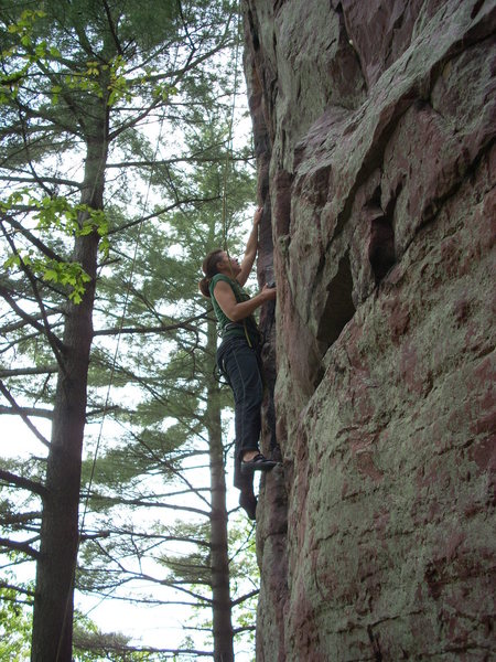 Rock Climbing Photo: For MP's lack of diversity I took this photo. Men ...