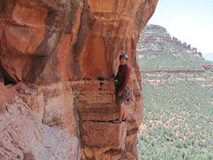 Rock Climbing Photo: Pitch 2 of Mars Attacks