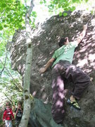 Rock Climbing Photo: The techy slabriosity.