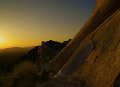 Rock Climbing Photo: The AZ sunsets never get old. Even if you still ha...