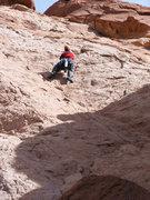 Rock Climbing Photo: The really fun pitch 3.