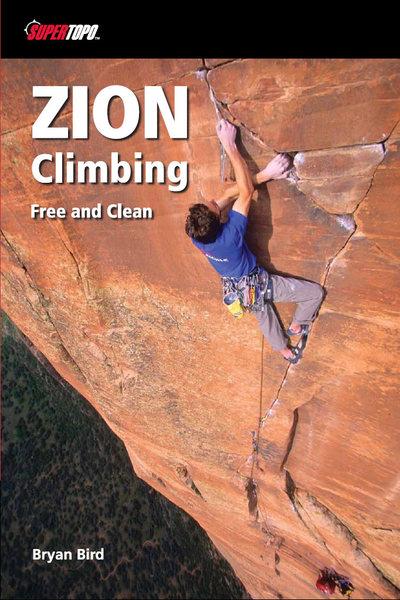 Rock Climbing Photo: SuperTopo Zion guidebook cover.