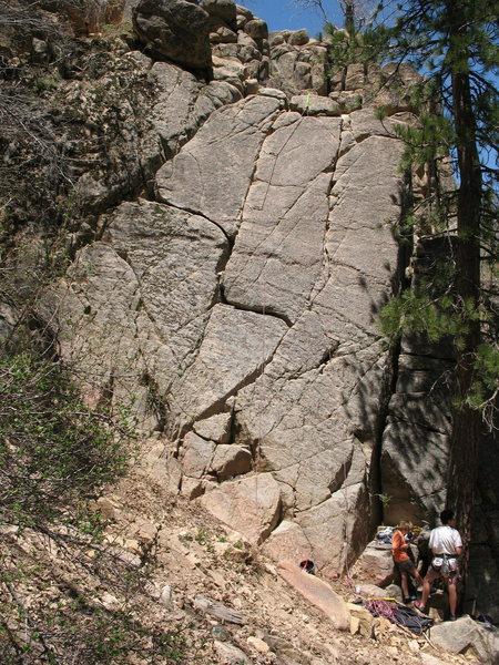 Southeast Face of Deep Creek Narrows