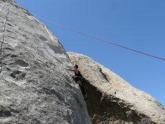 Rock Climbing Photo: Barking Spider.  No longer R rated.....originally ...