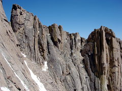 Rock Climbing Photo: This is a straight on shot of Gorrell's Traverse.