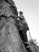 "Rock Climbing Photo: FA of ""10 Hits of Window Pane"". Photo by..."