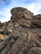 Rock Climbing Photo: Phil Legget Formation. Photo by Blitzo.