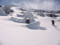 Rock Climbing Photo: winter wonder land on the Winthrop. This is on the...