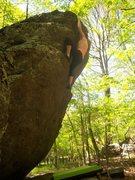 """Rock Climbing Photo: Joanna Jennings on """"Ranger Rick"""" (V-0), ..."""