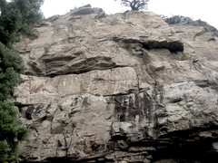 Rock Climbing Photo: Breaking the Waves is in the center of photo. If y...
