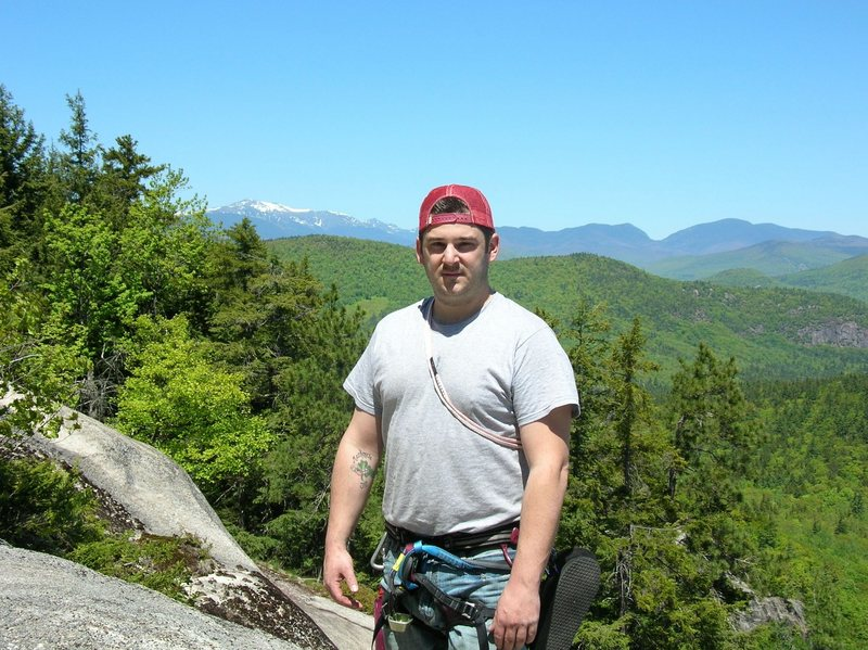 Rock Climbing Photo: May 16 and plenty of snow on Mount Washington.Phot...