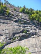 Rock Climbing Photo: 5 groups on standard.Photo by Loran Smith
