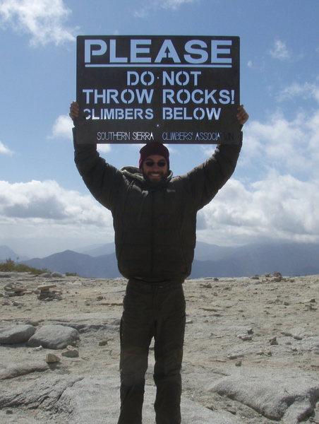 don't throw rocks