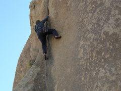 Rock Climbing Photo: Tucker Tech on The Floater.