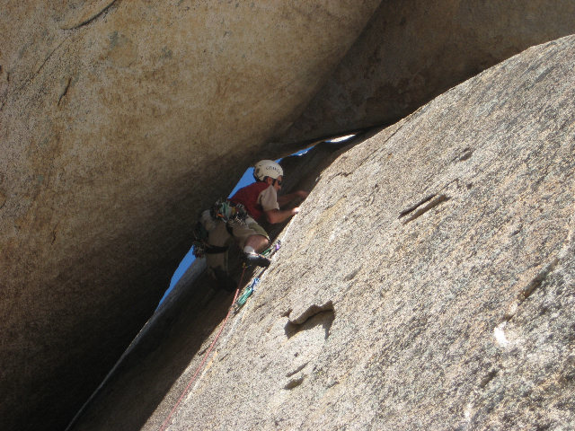 "Rock Climbing Photo: Graham on ""Crack"""
