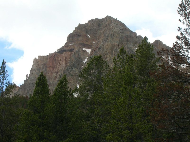 There's more to do on Beulah. This is the South Face.