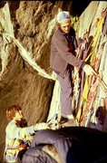 "Rock Climbing Photo: Mike Lechlinski and John ""Yabo"" Yablonsk..."