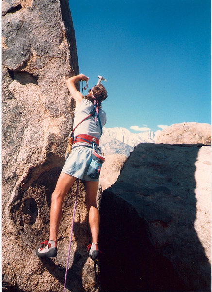 Rock Climbing Photo: 1st Accent