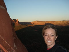 Rock Climbing Photo: Rapping Coyote Tower, Sedona