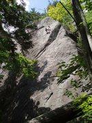 Rock Climbing Photo: Ethan on Raw Tips