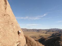 Rock Climbing Photo: Milt Jones on Inspect Her Gadget.