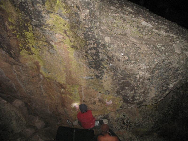 Rock Climbing Photo: Endless Journey V7,V8,V9? FA-CA