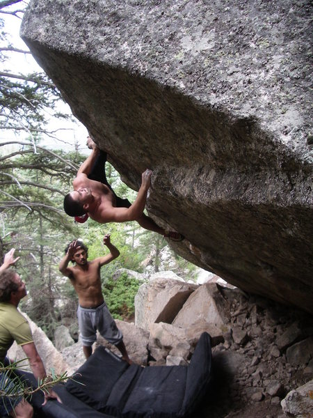 "Rock Climbing Photo: Higher up on ""Her Smile"""