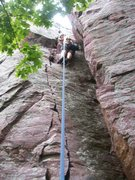 Rock Climbing Photo: the spine easy but over all a quick fun climb for ...