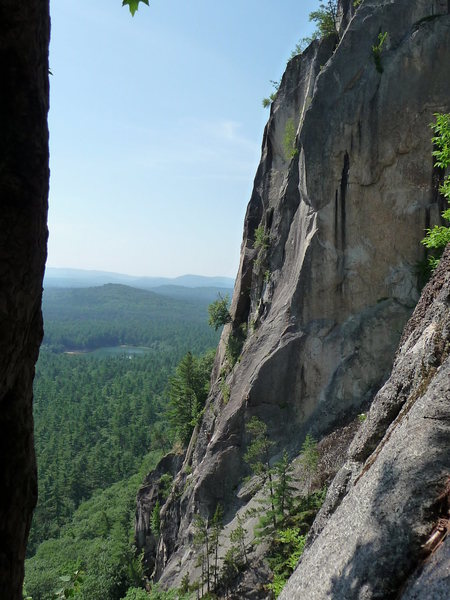 Rock Climbing Photo: Unknown climbers on Prow July 11, 2009