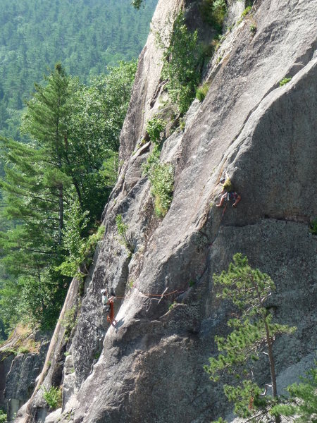 Rock Climbing Photo: Unknown climbers on Prow, July 11, 2009