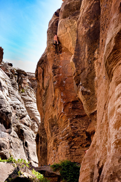Rock Climbing Photo: A must do! Mike on Has Bro.