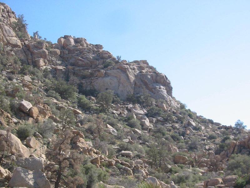 Rock Climbing Photo: G.L.S.E.W Crag