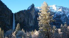Rock Climbing Photo: Cold May morning in Yosemite
