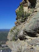 Rock Climbing Photo: Far left side.