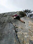 Rock Climbing Photo: Start of Evanescence.