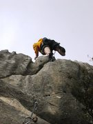 Rock Climbing Photo: Top out of Evanescence
