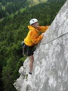 Rock Climbing Photo: Fantastic finish of La Voie du Fou